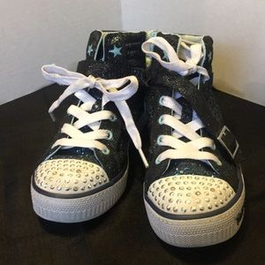 Girls sneakers sparkle